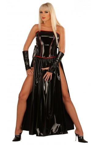Невероятна рокля тип корсет от PVC Винил