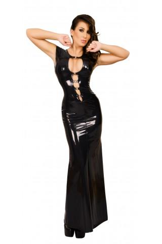 Супер дълга и секси рокля от Датекс - Латекс
