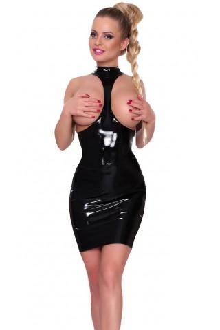 Секси къса рокля разкриваща гърдите от Датекс - Латекс