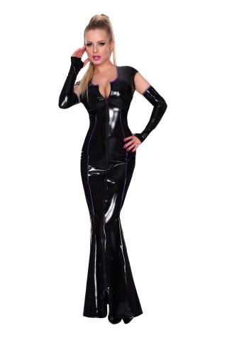 Невероятно секси много дълга вечерна рокля от Датекс - Латекс