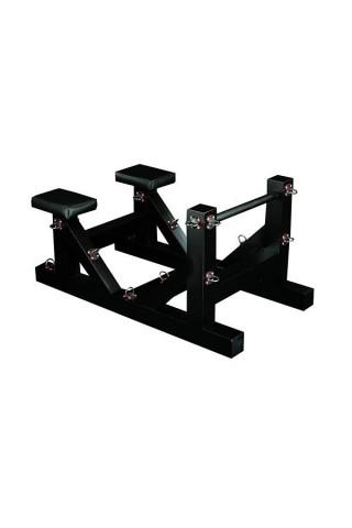 Висококачествена стойка с две столчета за ценители