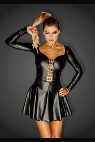 Невероятно секси и игрива къса рокличка на Noir Handmade