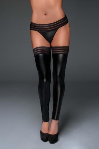 Секси чорапи от изкуствена кожа на Noir Handmade