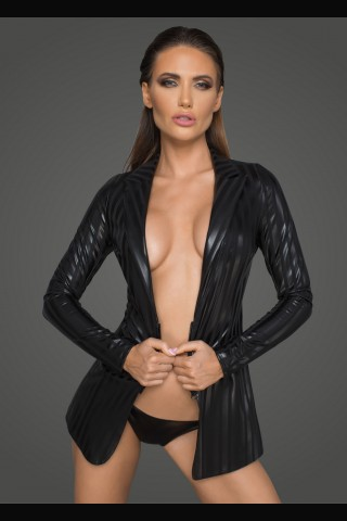 Секси сако от Еко кожа на Noir Handmade