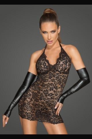 Секси дантелена рокля на Noir Handmade