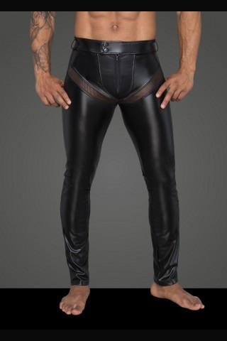 Секси мъжки панталон от Еко кожа на Noir Handmade