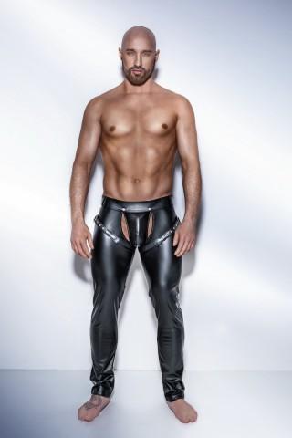 Секси мъжки кожен панталон на Noir Handmade