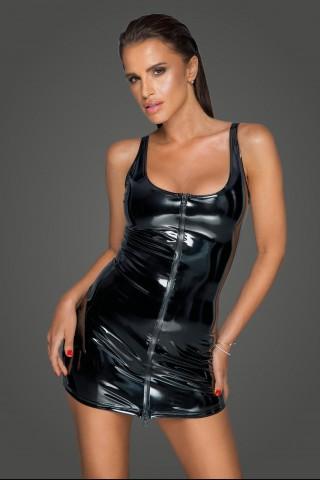 Секси къса рокля от Винил на Noir Handmade