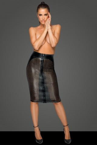 Секси пола от лазерно изрязана Еко кожа на Noir Handmade