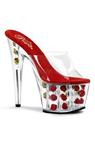 Еротични обувки на висок ток на Pleaser - Adore 701FL