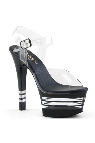 Еротични обувки на висок ток на Pleaser - Aspire 608LN