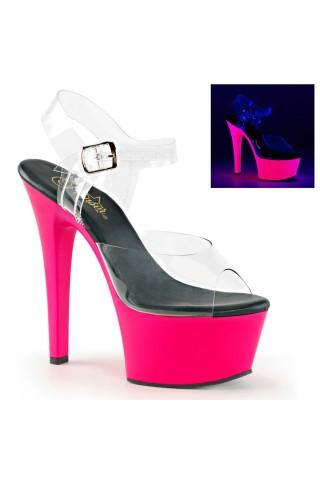 Еротични обувки на висок ток на Pleaser - Aspire 608UV