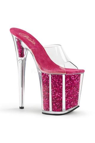 Еротични обувки на висок ток на Pleaser - Flamingo 801G