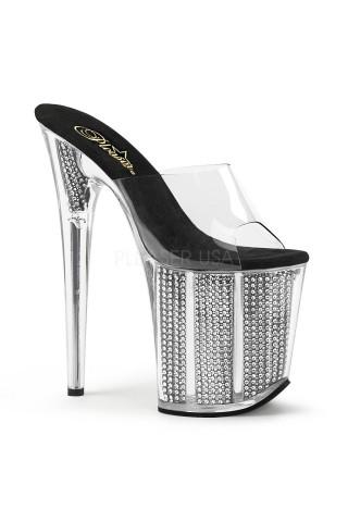 Еротични обувки на висок ток на Pleaser - Flamingo 801SRS