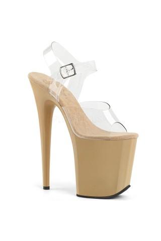 Еротични обувки на висок ток на Pleaser - Flamingo 808