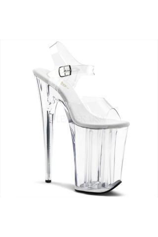 Еротични обувки на висок ток на Pleaser - Infinity 908