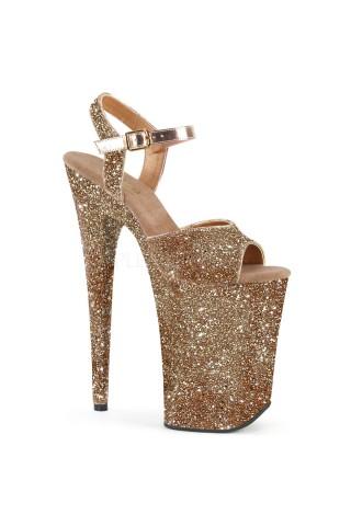 Еротични обувки на висок ток на Pleaser - Infinity 910LG