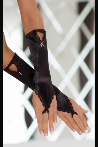 Много красиви и предизвикателни сатенени ръкавици на Soft Line Collection