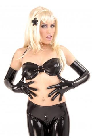 Супер дълги и много секси ръкавици от Латекс