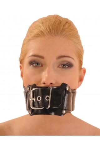 Маска за уста със тапа - тип колан
