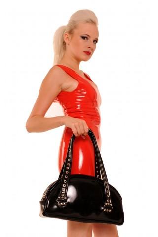 Голяма дамска чанта от Латекс