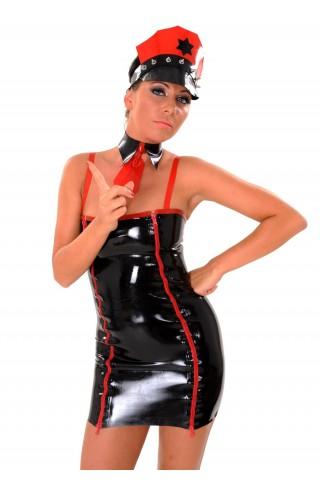 Секси рокля на полицайка от Латекс