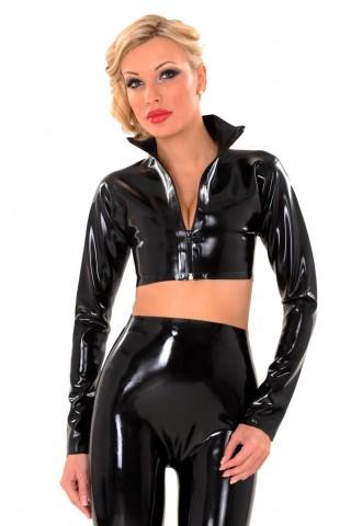 Секси блузка тип жакет от Латекс
