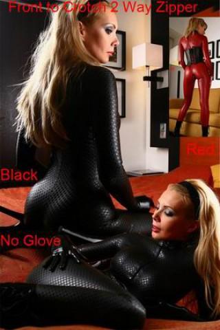 Черен гащеризон черна змийска кожа