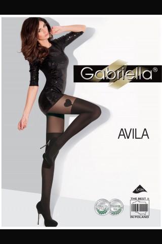 Нежен фигурален чорапогащник Gabriella Avila