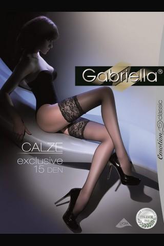 Луксозни дълги чорапи Gariella Calze Exclusive със силикон 15 DEN
