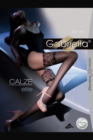 Луксозни дълги чорапи Gariella със силикон 20 DEN
