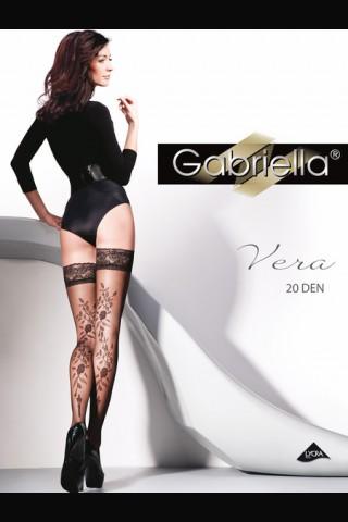 Дълги фигурални силиконови чорапи - Gabriella Vera