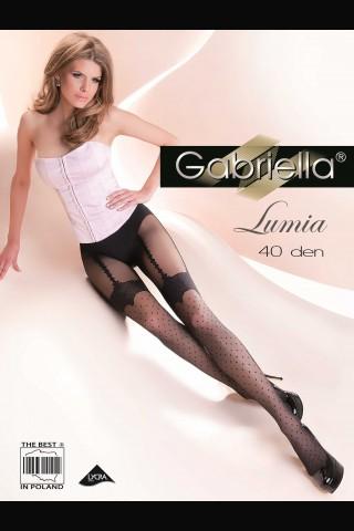 Дамски чорапогащник Gabriella Lumia с имитация на жартиер 20 DEN
