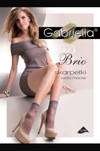 Къси нежни фигурални чорапки Gabriella Brio
