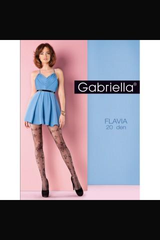 Нежен фигурален чорапогащник 20 DEN - Gabriella Flavia