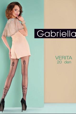 Нежен фигурален чорапогащник 20 DEN - Gabriella Vertia