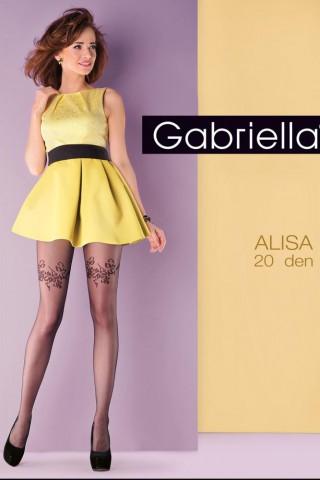 Нежен фигурален чорапогащник 20 DEN - Gabriella Alisa