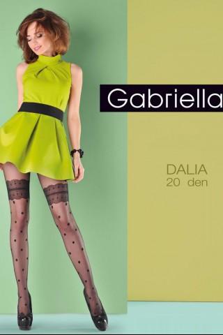 Нежен фигурален чорапогащник 20 DEN - Gabriella Dalia