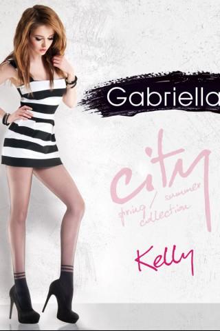 Нежен фигурален чорапогащник 20 DEN - Gabriella Kelly