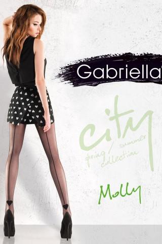 Нежен фигурален чорапогащник 20 DEN - Gabriella Molly
