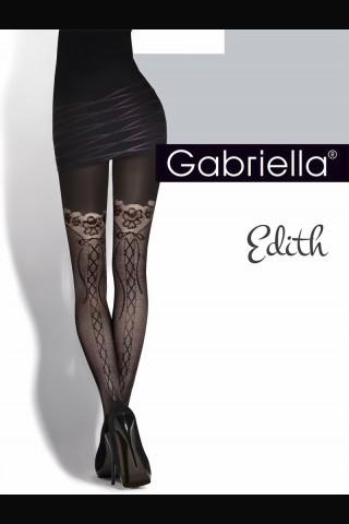 Нежен фигурален чорапогащник Gabriella Edith