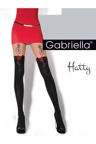 Нежен фигурален чорапогащник Gabriella Hatty 20 DEN