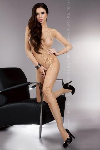 Секси мрежесто фигурално целокупно боди LivCo Khryseis