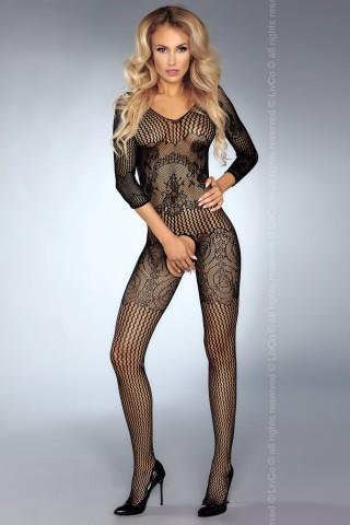 Секси мрежесто фигурално целокупно боди - LivCo Kinsley