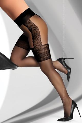 Фигурален чорапогащник на на LivCo - AGNISKA 20 DEN black