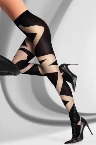 Фигурален чорапогащник на на LivCo - DEANLA 60 DEN