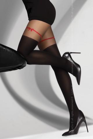 Фигурален цветен чорапогащник на на LivCo - HREIAMA 60 DEN