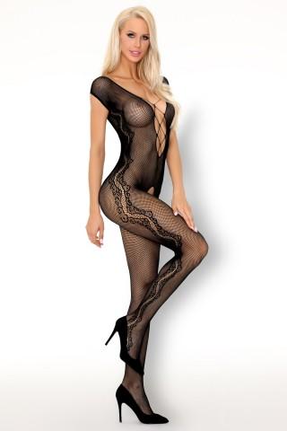 Секси мрежесто целокупно боди на LivCo - Moritana