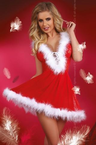 Изключително секси и игрива коледна рокличка - LivCo Snow Flake
