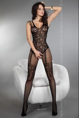 Секси мрежесто фигурално целокупно боди LivCo Temperance